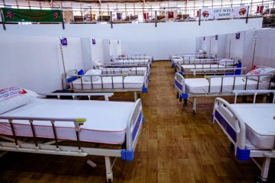 300-bed ThisDome Isolation Center in Abuja, Nigeria.