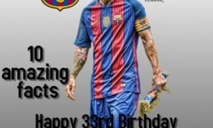 , Lionel Messi Turns 33: 10 Amazing Facts About Messi
