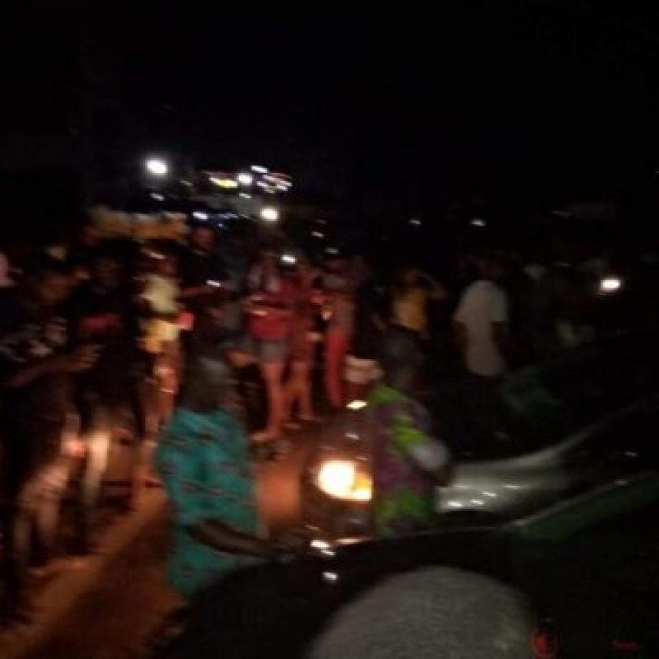 EndSARS Protesters Hold All Night Protest In Benin (Photos, Video)