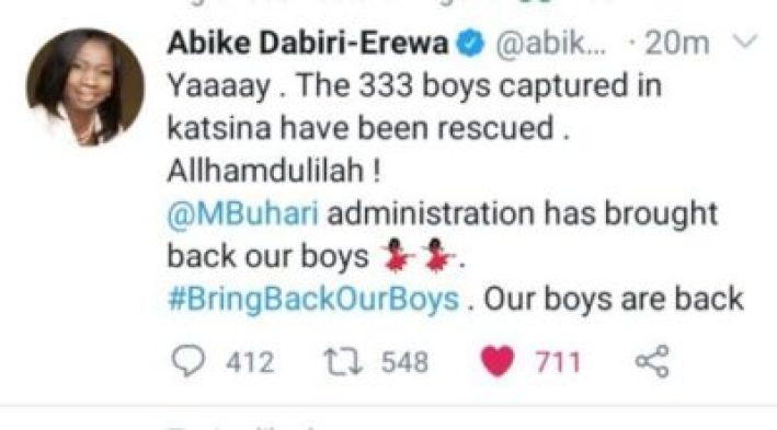 Fact Check: Kidnapped Kankara SchoolBoys Are Not Set Free By Boko Haram
