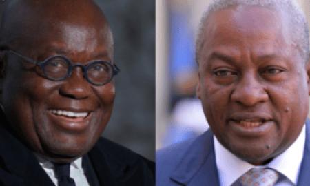 Ghana 2020 Presidential Election Result: Mahama Vs Akufo Addo