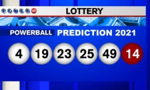 Powerball Prediction Winning Numbers 2021