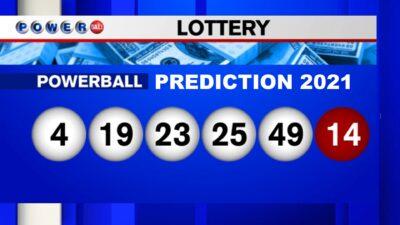 Powerball Prediction Winning Numbers 2021