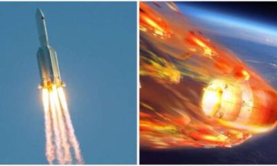 Chinese Rocket Landed In Indian Ocean