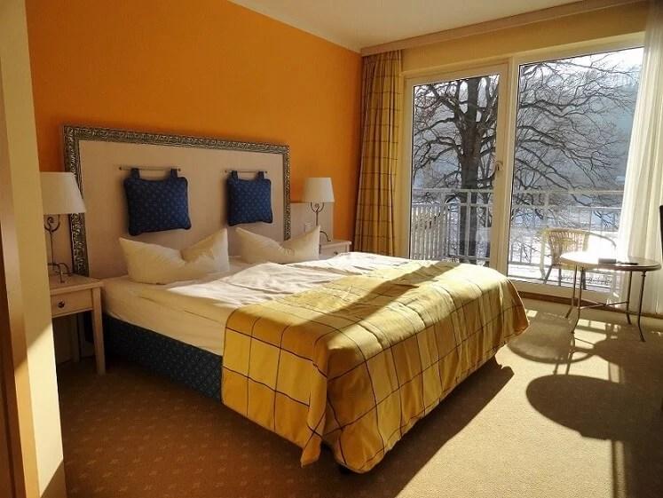 Parkhotel Bad Schandau kostenfreies Upgrade im Hotel