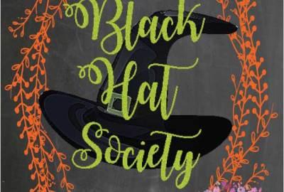 Halloween Witches Tea Party Black Hat Society Free Printable Via Mandys Printables