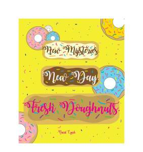 Free Donut Quote Printable via Mandy's Party Printables