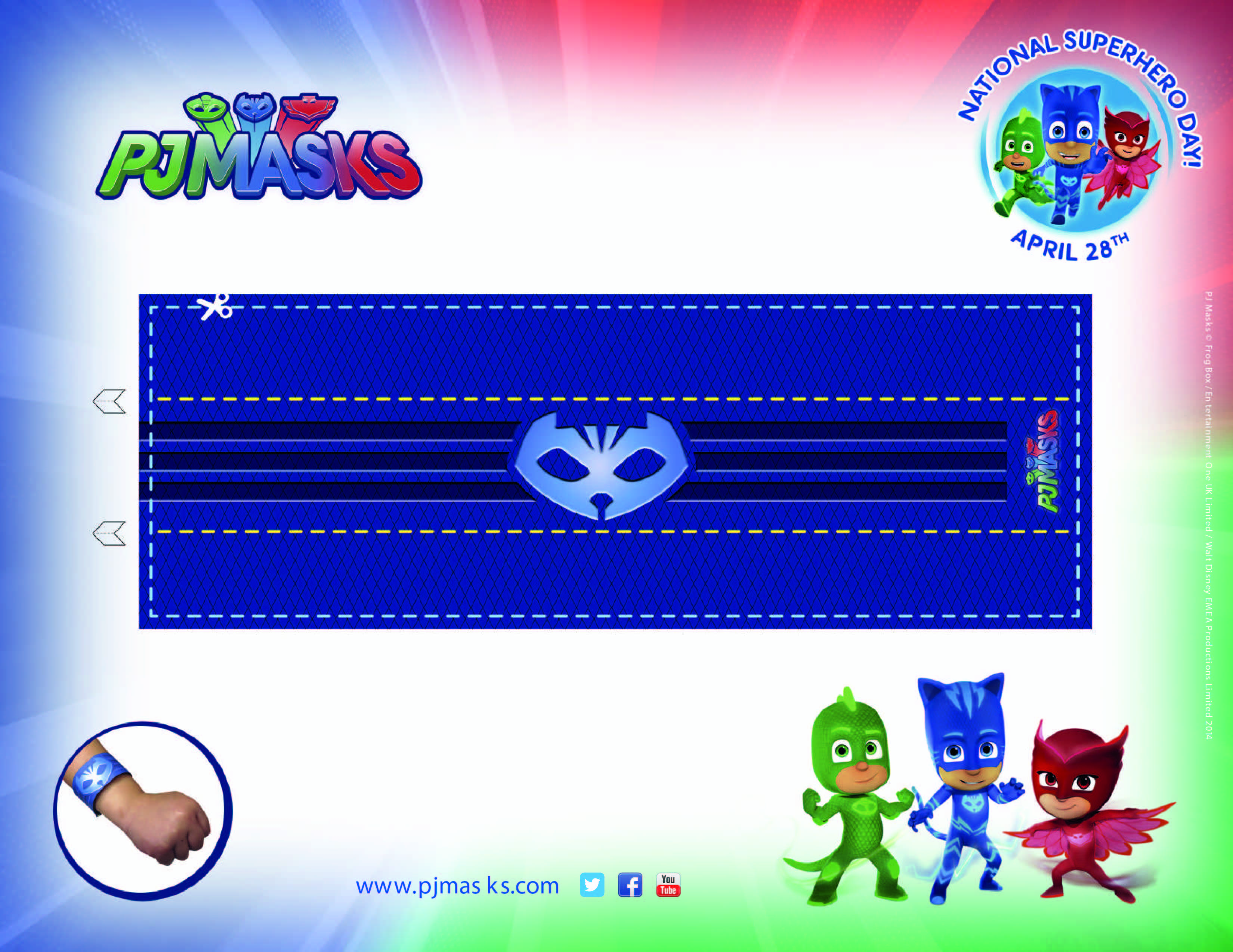 PJ Masks Party Printables Catboy Amulet For FREE Via Mandys