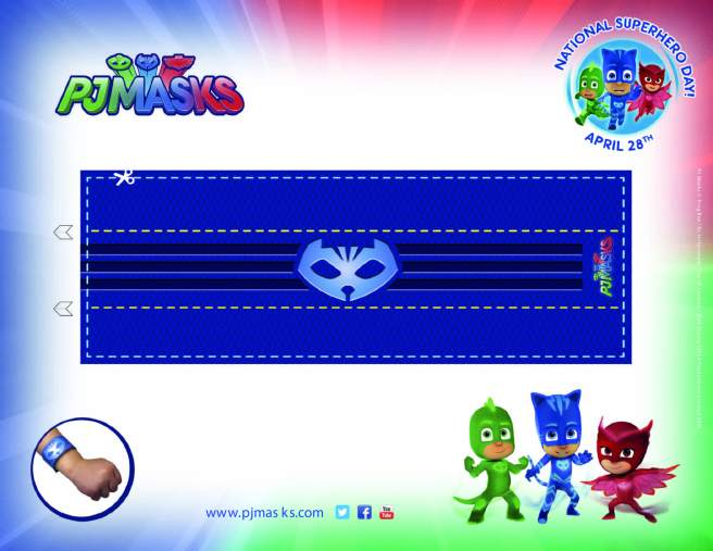 PJ Masks Party Printables Catboy Amulet for FREE via Mandy's Party Printables