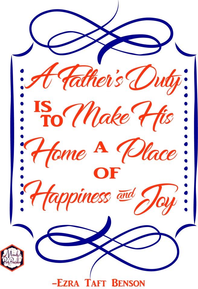 Father's Day Quotes and Signs | Mandy's Party Printables