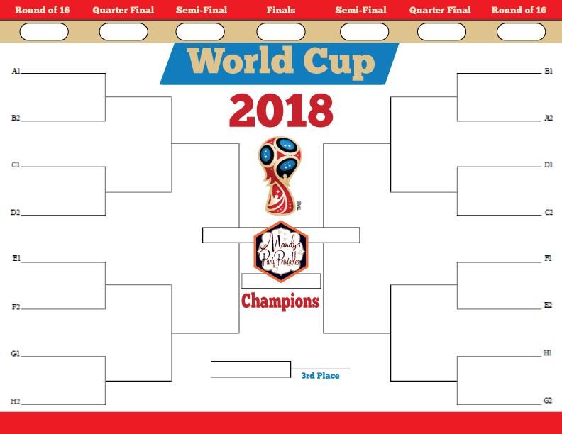 image regarding World Cup Bracket Printable called Worldwide Cup Printable Bracket