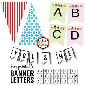 Birthday Banner Template Ideas