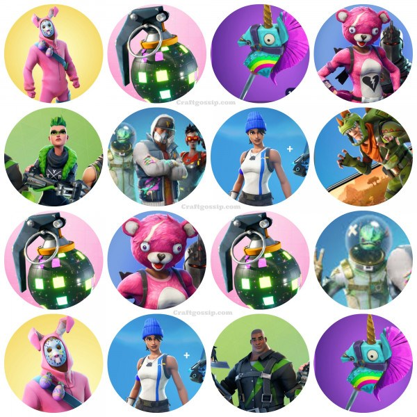 graphic regarding Fortnite Printable Images called Excess Free of charge Fortnite Bash Printables