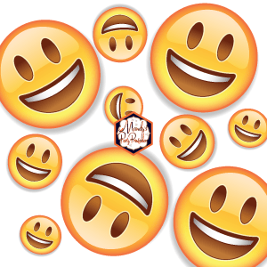 photograph relating to Vipkid Printable Props named Totally free Printable VIPKID Emoji Faces