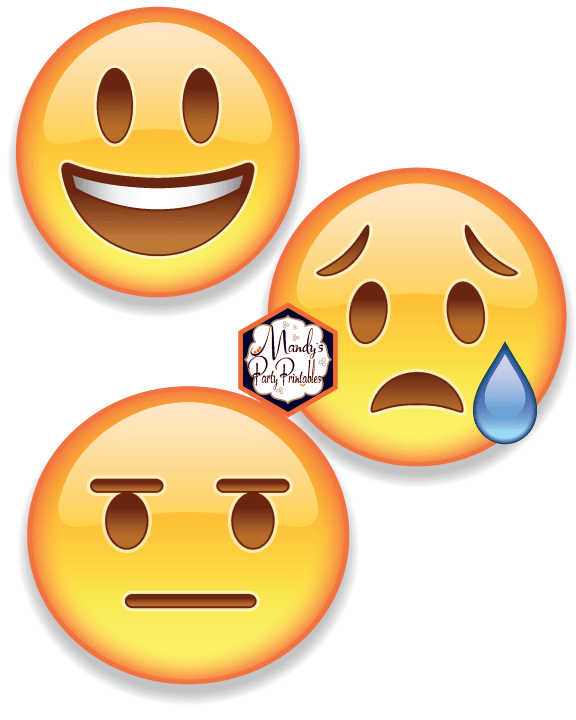 image regarding Printable Emojis called Cost-free Printable VIPKID Emoji Faces
