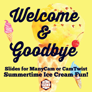 Summer Welcome and Goodbye Signs for VIPKID ESL Teachers |