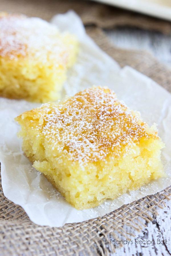 Pineapple Cake Box Mix