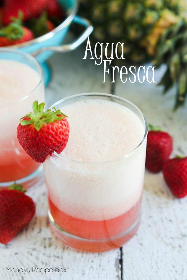 Agua Fresca #SplendaSweeties #SweetSwaps