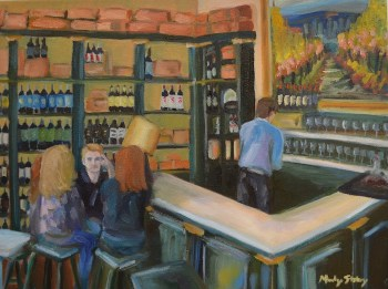 Wine Bar Painting
