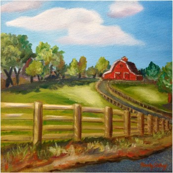 Heartland Barn Painting