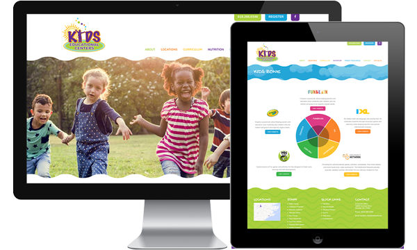 Kids Educational Center Website