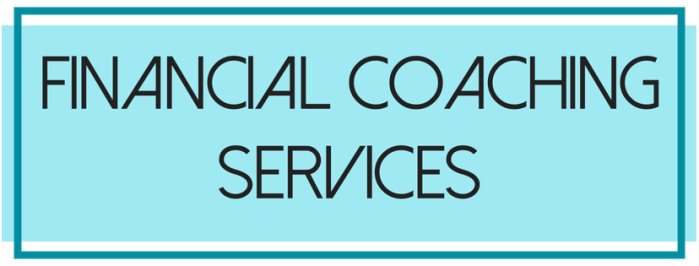 Financial Coaching services