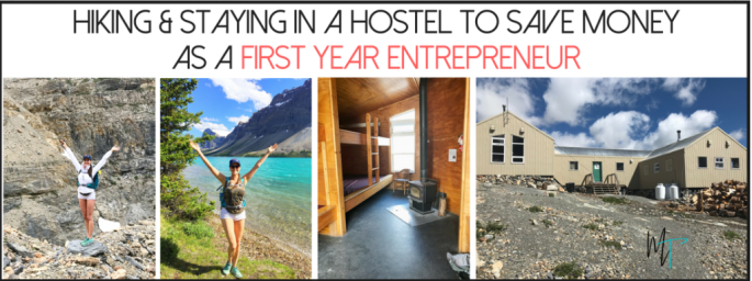 Saving Money as a First Year Entrepreneur