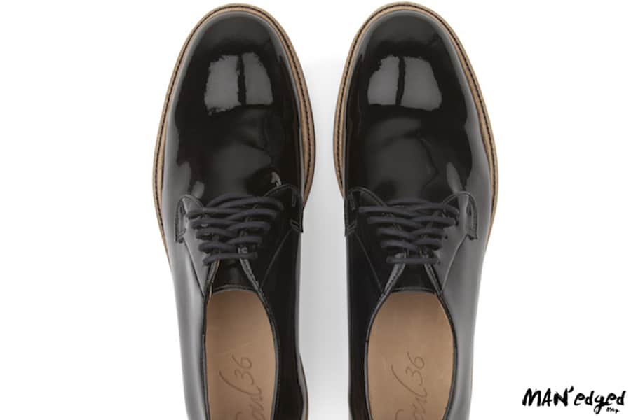 black men's oxford shoes by soul 36