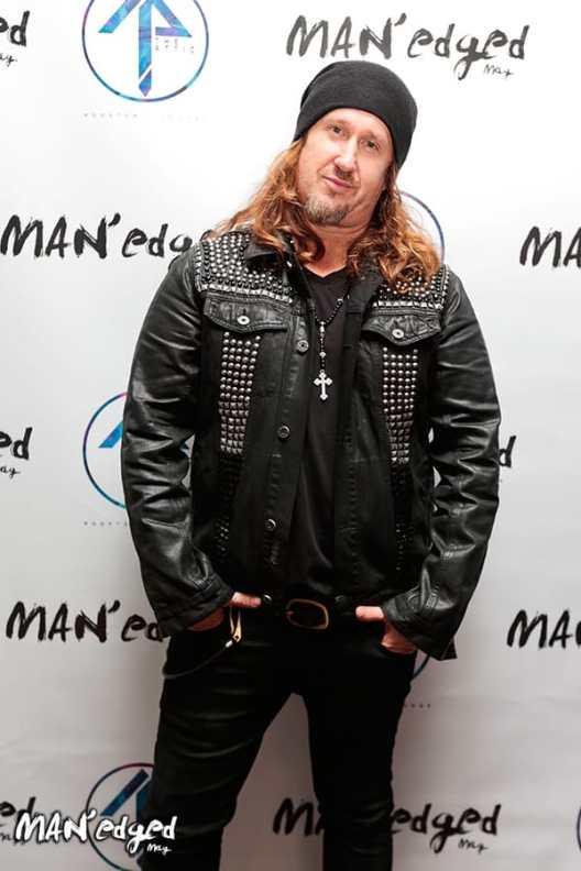 Designer Ron Poisson at the MAN'edged Magazine Style + Music Event