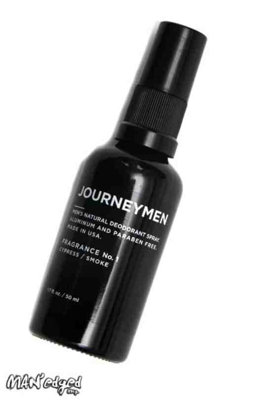 Editor's Pick: all-natural spray-on men's deodorant from Journeymen