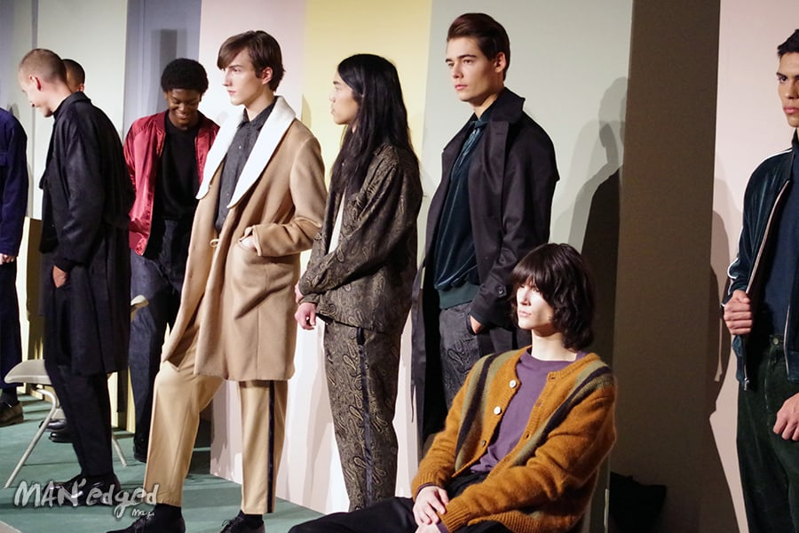 The various retro looks shown at Men's Day.