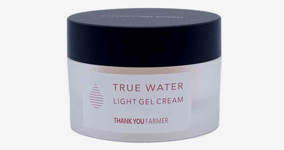 Thank You Farmer light gel cream face mask container