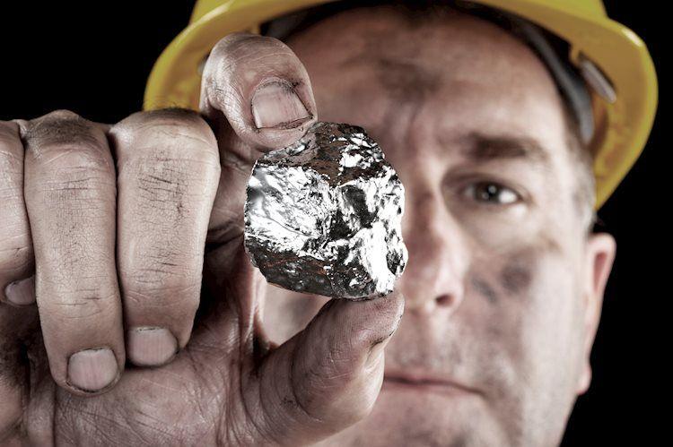La plata se mantiene en territorio bajista por debajo del nivel psicológico de $ 23
