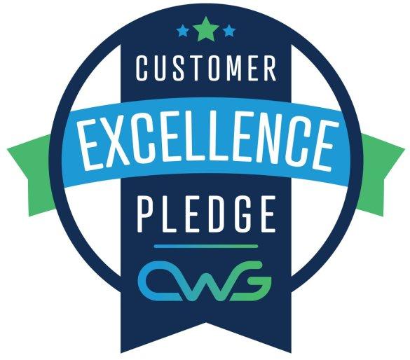 The Customer Excellent Pledge Logo
