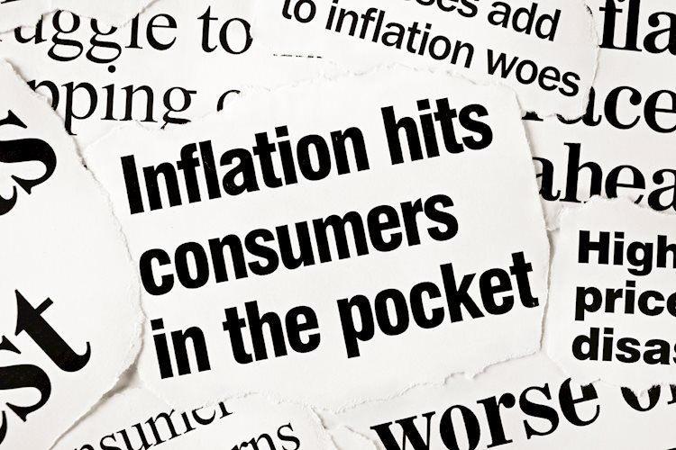 Las expectativas de inflación de EE. UU. Caen al nivel más bajo en siete semanas antes de la publicación del IPC