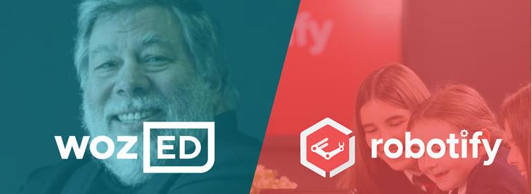 Robotify se asocia con Woz ED de Steve Wozniak para virtualizar la experiencia de aprendizaje STEM