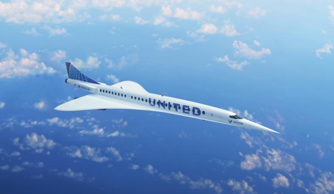 United Airlines acuerda comprar 15 aviones supersónicos Boom