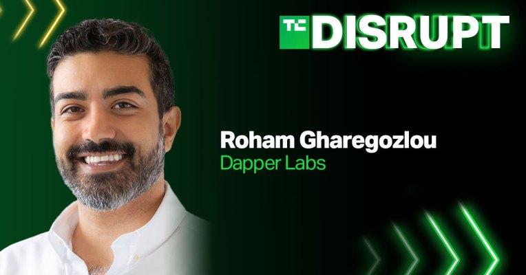 El CEO de Dapper Labs, Roham Gharegozlou, llega a Disrupt – TechCrunch