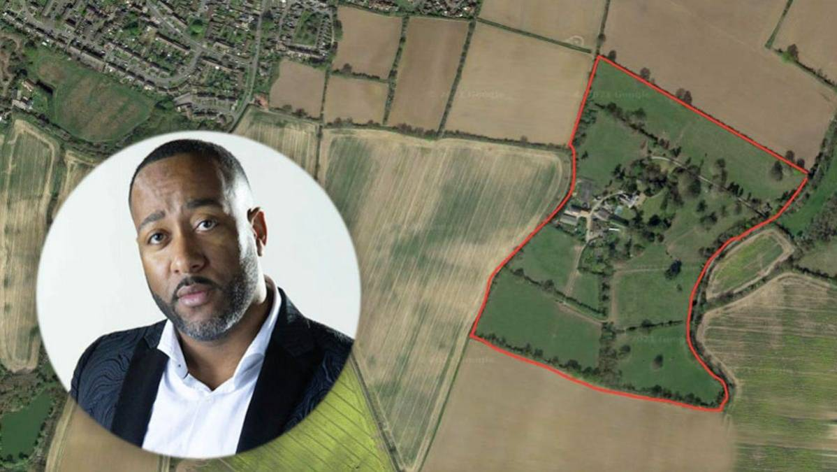 El empresario de medios, cine y bienes raíces Antoine Dixon-Bellot adquiere una propiedad de £ 4 millones en una mansión georgiana con planes para construir una aldea de estudios cinematográficos