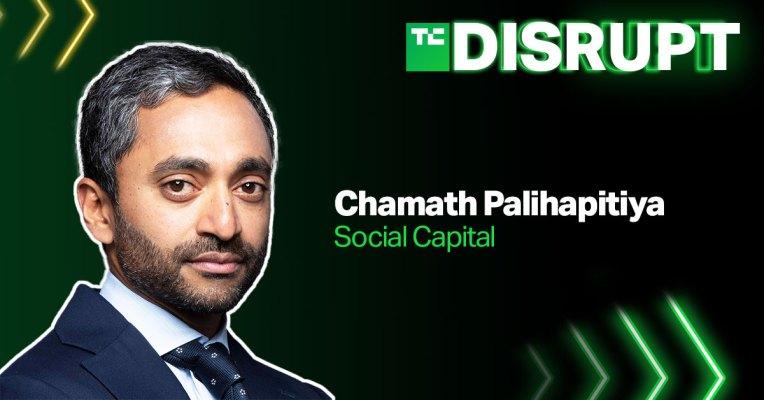 Chamath Palihapitiya llega a Disrupt – TechCrunch
