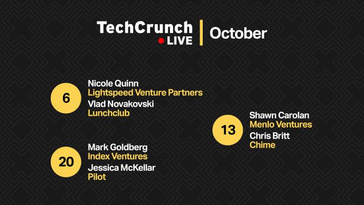 Descubra los increíbles oradores que se unen a nosotros en Extra Cru… hum, TechCrunch Live – TechCrunch