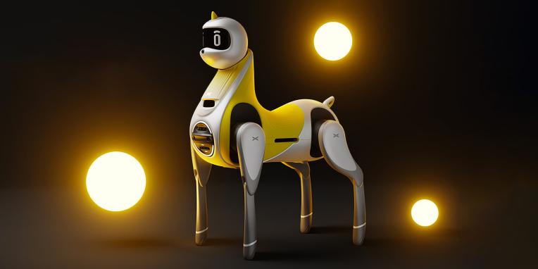La startup china de vehículos eléctricos quiere construir un unicornio robótico para niños