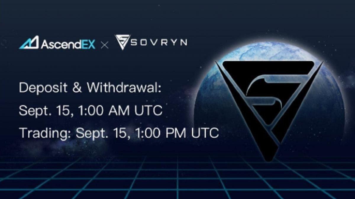 Listas de Sovryn en AscendEX – Comunicado de prensa de noticias de Bitcoin