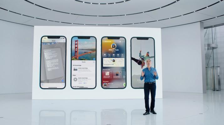Los usuarios de iPhone recibirán la actualización de iOS 15 el 20 de septiembre