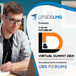UpsideLMS & UBS Forums Future of L&D Summit se centrará en cambiar la cultura de L&D para la transformación digital