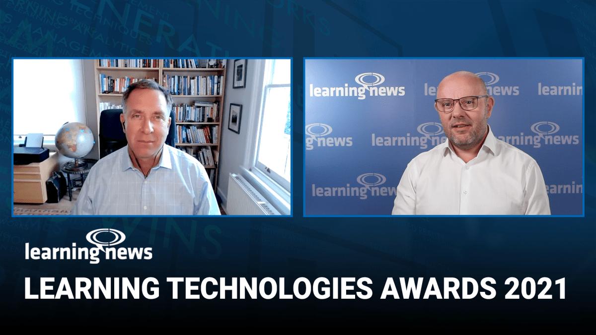 Vista previa de los premios Learning Technologies Awards 2021 con Donald H Taylor