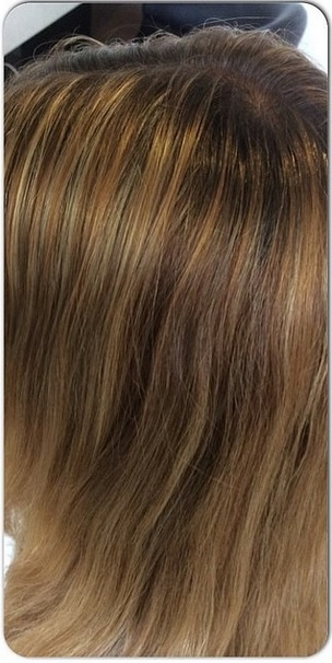 blonde highlights before and after blog