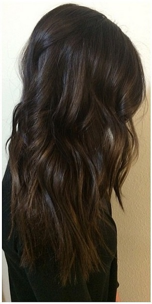 darkest brunette hair color