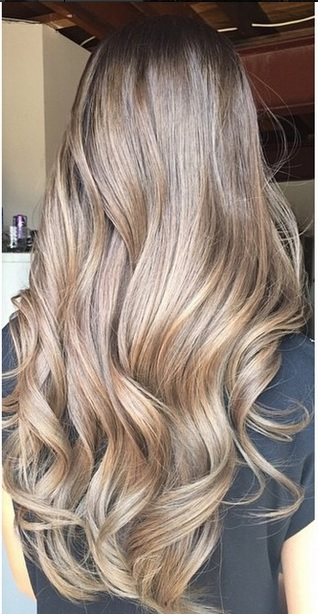 brunette balayage highlights 2015