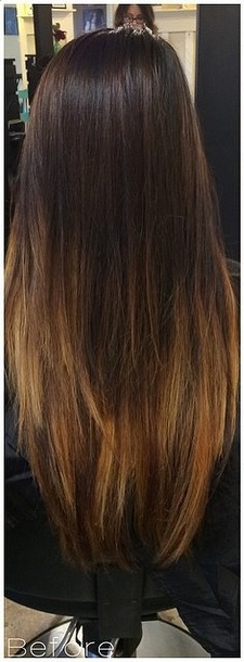 hair color ideas blog before and after